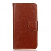 HTC DESIRE 530 pung læder cover brun, Mobiltelefon tilbehør