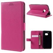 HTC 10 læder pung cover rosa, Mobiltelefon tilbehør