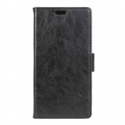 HTC 10 læder cover med lommer sort, Mobiltelefon tilbehør