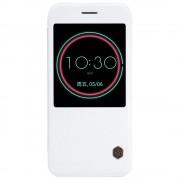 HTC 10 business læder cover med vindue hvid, Mobiltelefon tilbehør