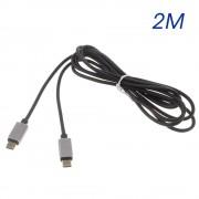 USB 3.1 kabel 2M Type c til Type c Mobiltelefon tilbehør