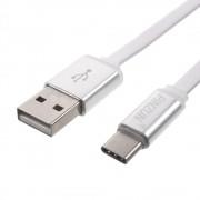 C type usb kabel alu hvid Mobiltelefon tilbehør