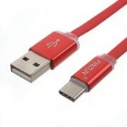 C type usb kabel alu rød Mobiltelefon tilbehør
