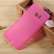 Til Htc U ultra cover i blød tpu mat rosa, Htc u ultra cover og mobil tilbehør