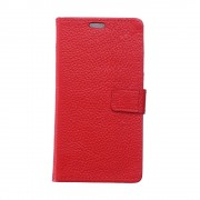 Htc U11 rød cover i ægte læder Mobil tilbehør