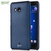 Htc U11 tynd hard case cover mørkeblå Mobil tilbehør