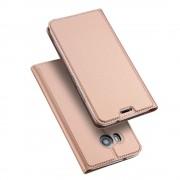 Htc U11 slim cover med kort lomme rosaguld Mobilcover
