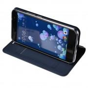 Htc U11 slim cover mørkeblå med kort lomme Mobilcover