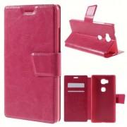 HUAWEI HONOR 5X læder cover med kort lommer, rosa Mobiltelefon tilbehør Leveso.dk