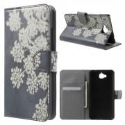 Huawei Y6 pro - Enjoy 5 cover m mønster Blooming Flowers Mobiltelefon tilbehør