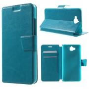 Huawei Y6 pro - Enjoy 5 cover k-line blå Mobiltelefon tilbehør
