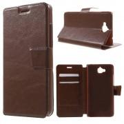 Huawei Y6 pro - Enjoy 5 cover k-line brun Mobiltelefon tilbehør