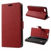 Huawei P9 lite mini flip cover rød Mobilcovers