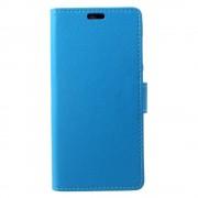 Huawei P9 lite mini flip cover blå Mobilcovers