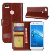Vilo flip cover brun Huawei P9 lite mini Mobilcovers