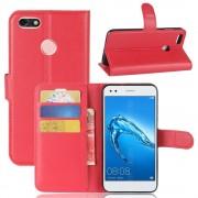 Flip cover rød Huawei P9 lite mini Mobilcovers