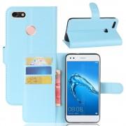 Flip cover blå til Huawei P9 lite mini Mobilcovers
