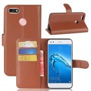 Flip cover brun Huawei P9 lite mini Mobilcovers