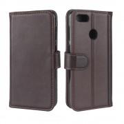 Huawei P9 lite mini cover ægte læder brun Mobilcovers