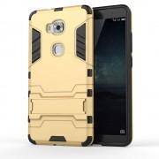 Til HUAWEI HONOR 5X hybrid bag cover, guld Mobiltelefon tilbehør
