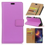 Huawei Y6 2017 flip cover lilla Mobilcovers