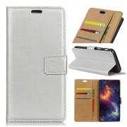 Huawei Mate 10 flip cover sølv Mobilcovers