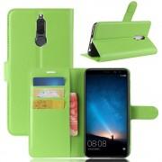 Vilo flip cover grøn Huawei Mate 10 lite Mobilcovers