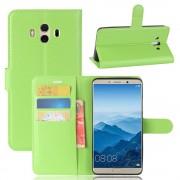 Vilo flip cover grøn til Huawei Mate 10  Mobilcovers