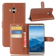 Vilo flip cover brun til Huawei Mate 10  Mobilcovers