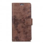 Huawei Mate 10 lite cover i retro stil brun Mobilcovers