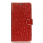 Huawei mate 10 lite cover croco rød Mobilcovers