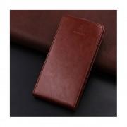 Huawei Mate 10 cover vertikal med lomme brun Mobilcovers