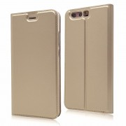 Slim flip cover guld Huawei P10 Mobilcovers