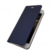 Slim flip cover blå Huawei P10 Mobilcovers