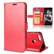 Vilo flipcover med lommer rød Huawei honor 7x Mobilcovers