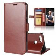 Vilo flipcover med lommer brun Huawei honor 7x Mobilcovers