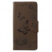 Flipcover med mønster brun Huawei Mate 10 lite Mobil tilbehør