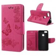 Cover med mønster rosa Huawei P9 lite mini Mobilcovers