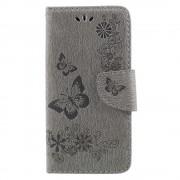 Cover med mønster grå Huawei P9 lite mini Mobilcovers