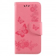 Cover med mønster pink Huawei P9 lite mini Mobilcovers