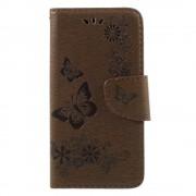 Cover med mønster brun Huawei P9 lite mini Mobilcovers