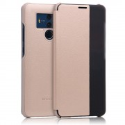 Huawei Mate 10 pro cover view vindue guld Mobilcovers