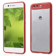 Slim combi cover rød Huawei P10 Mobilcovers