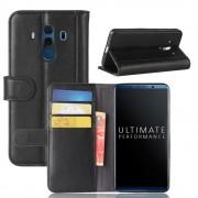 Huawei Mate 10 pro flipcover i split læder Mobilcovers