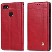 Retro læder cover rød Huawei p9 lite mini Mobilcovers