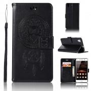 Flip cover med lommer sort Huawei Y6 2 Mobil tilbehør