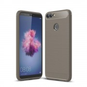 C-style armor cover grå Huawei P smart Mobilcovers