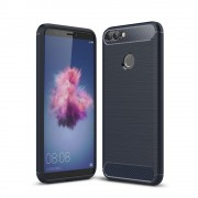 C-style armor cover blå Huawei P smart Mobilcovers