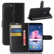 Igo flip cover sort Huawei P smart Mobil tilbehør