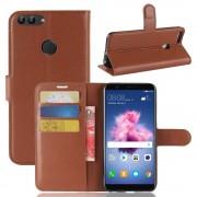 Igo flip cover brun Huawei P smart Mobil tilbehør